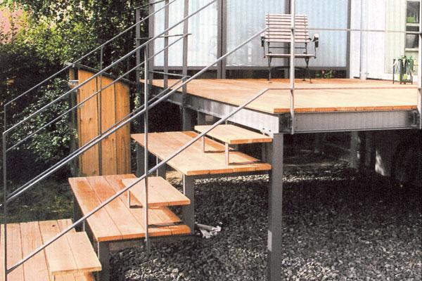 Top Geländer Treppen Balkone | Schlosserei Metallbau Sindelfingen DC42