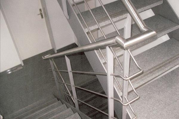 Sehr Gut Geländer Treppen Balkone | Schlosserei Metallbau Sindelfingen  VP02